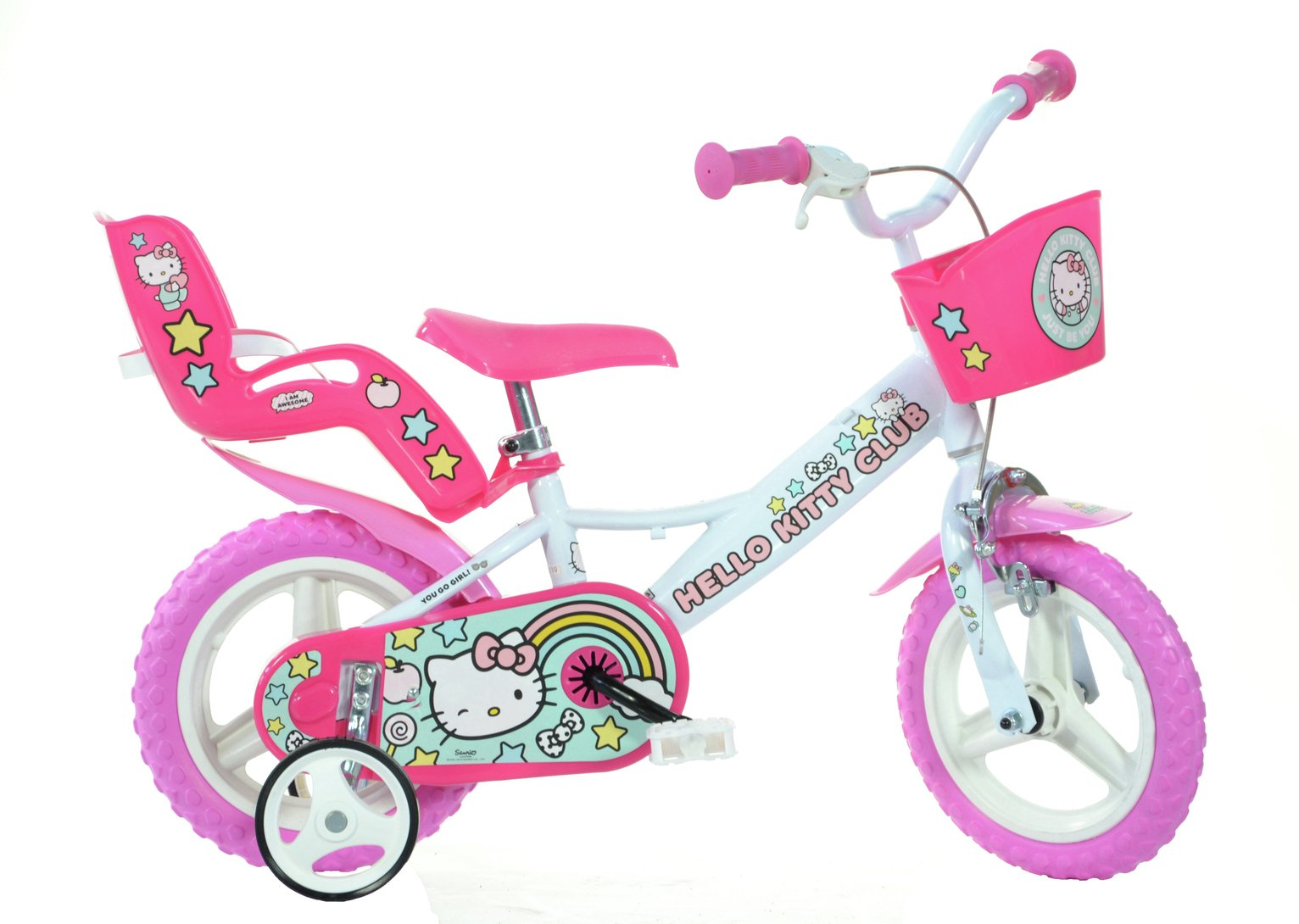 Image of Hello Kitty 12 Inch Kids Bike