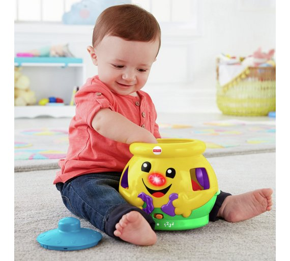 Buy Fisher Price Laugh Learn Cookie Shape Surprise Baby Activity