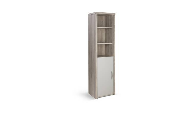 Argos Home Venice 1 Door Display Cabinet - Grey