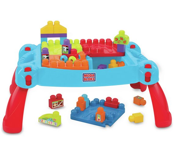 Buy Mega Bloks First Builders Build \'n\' Learn Table at Argos.co.uk ...