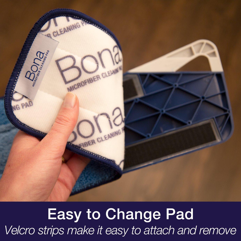Bona Set of 2 Microfibre Floor Pads