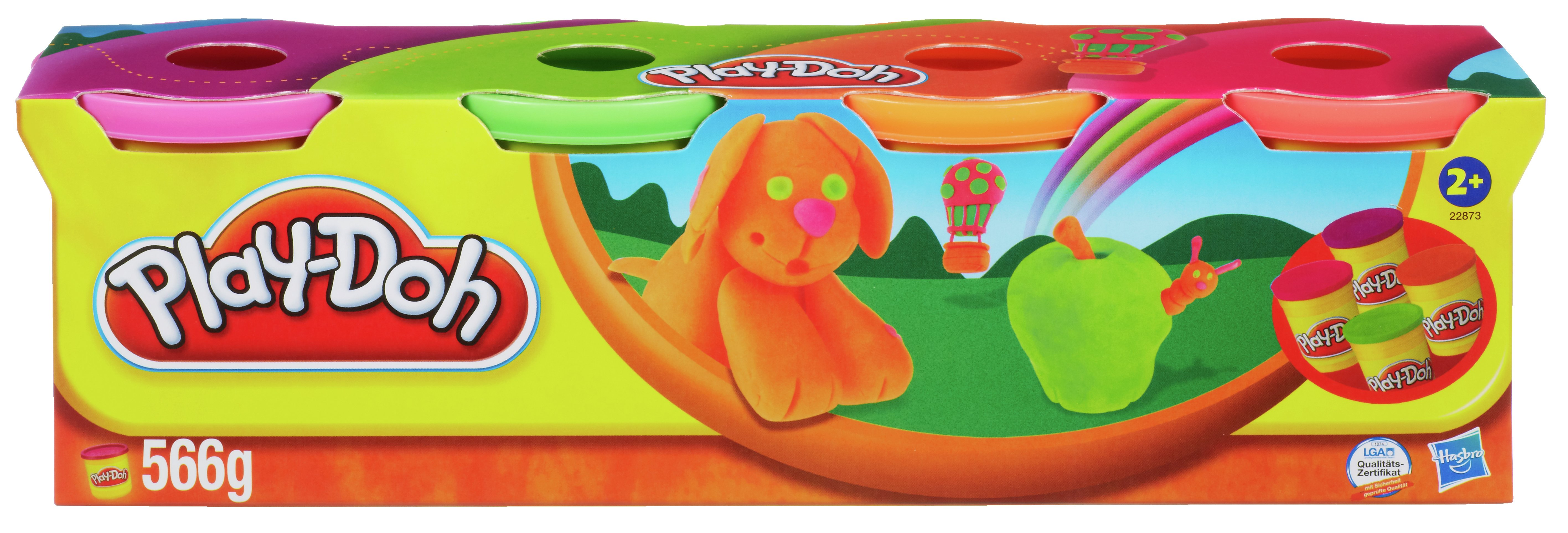 Play-Doh - Classic Colours 4 Pack