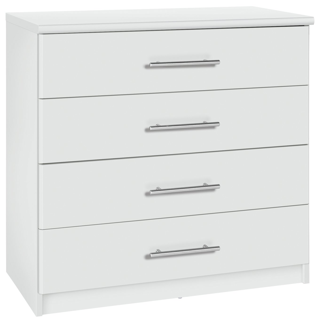Buy Argos Home Normandy 4 Drawer Chest White Chest Of Drawers