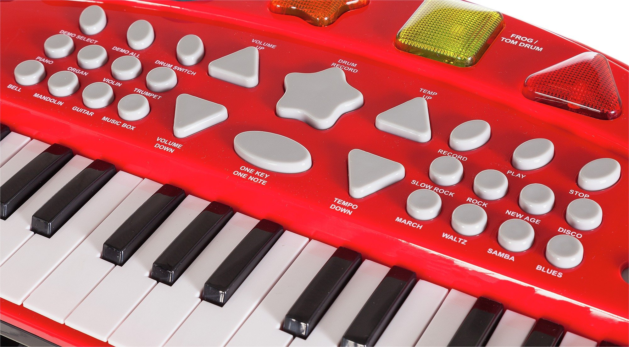 Buy Chad Valley Sing Along Keyboard Stand And Stool Red