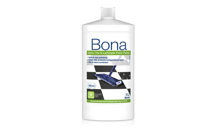 Bona 1L Stone, Tile and Laminate Floor Polish - Gloss