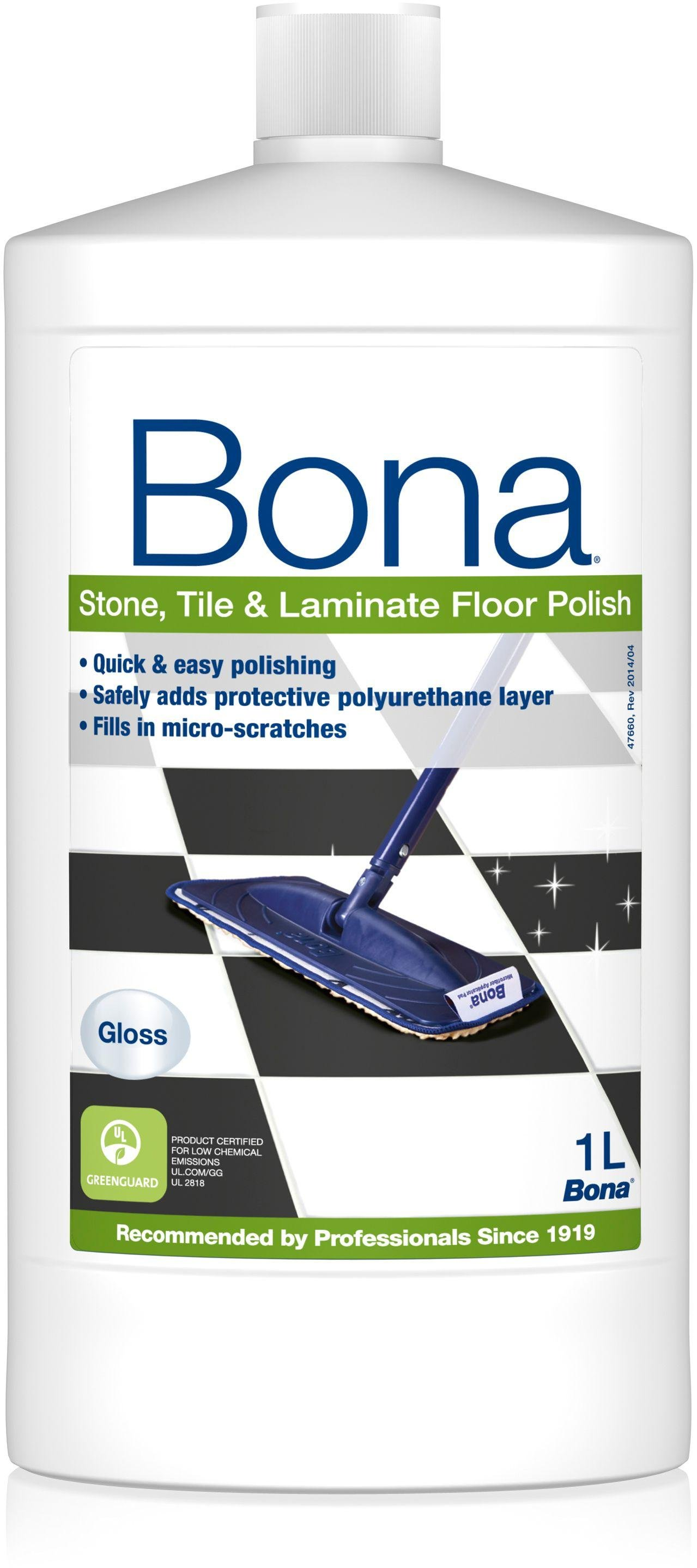 Image of Bona 1L Stone, Tile and Laminate Floor Polish Gloss