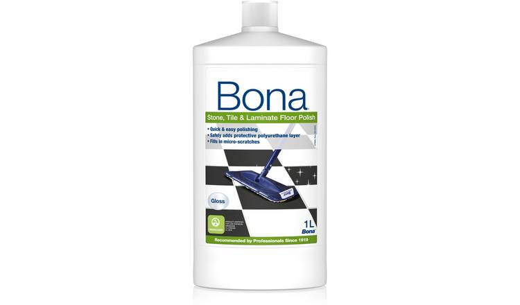 Buy Bona 1L Stone, Tile and Laminate Floor Polish - Gloss | Cleaning  products | Argos