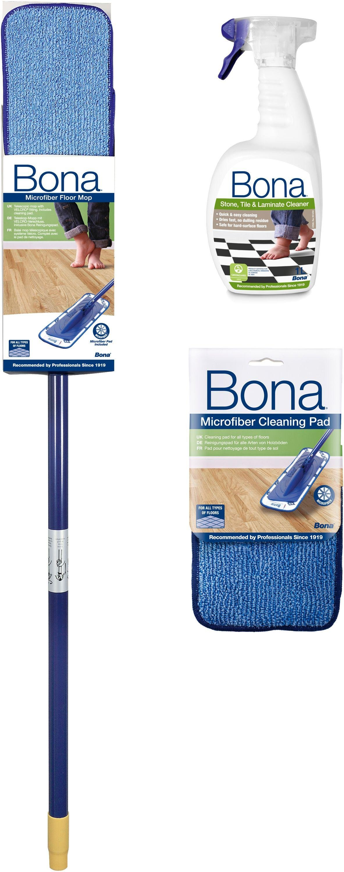 Image of Bina - Stone, Tile - and Laminate - Floor Cleaning Kit