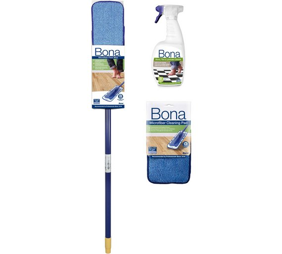 Buy Bona Stone Tile And Laminate Floor Cleaning Kit Mops Argos