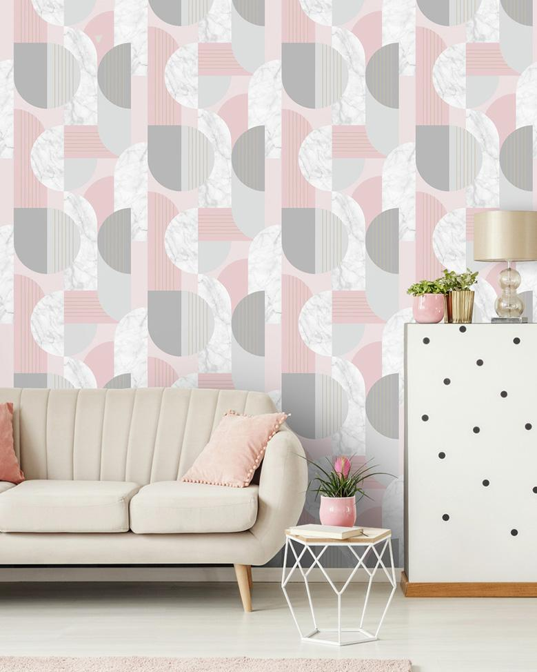 Suit every style. Shop patterned wallpaper.