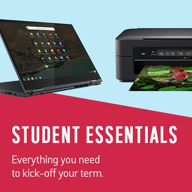 Student essentials. Everything you need to kick-off your term.