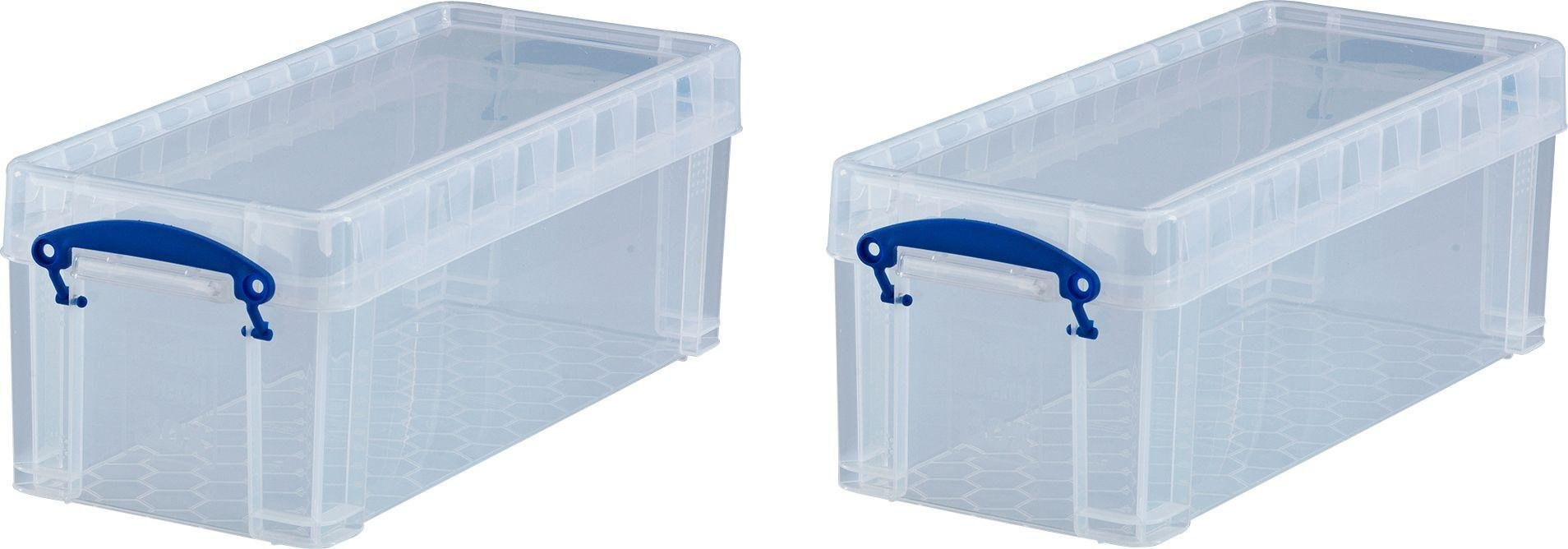Buy Really Useful DVD Media Storage Box Plastic storage boxes and