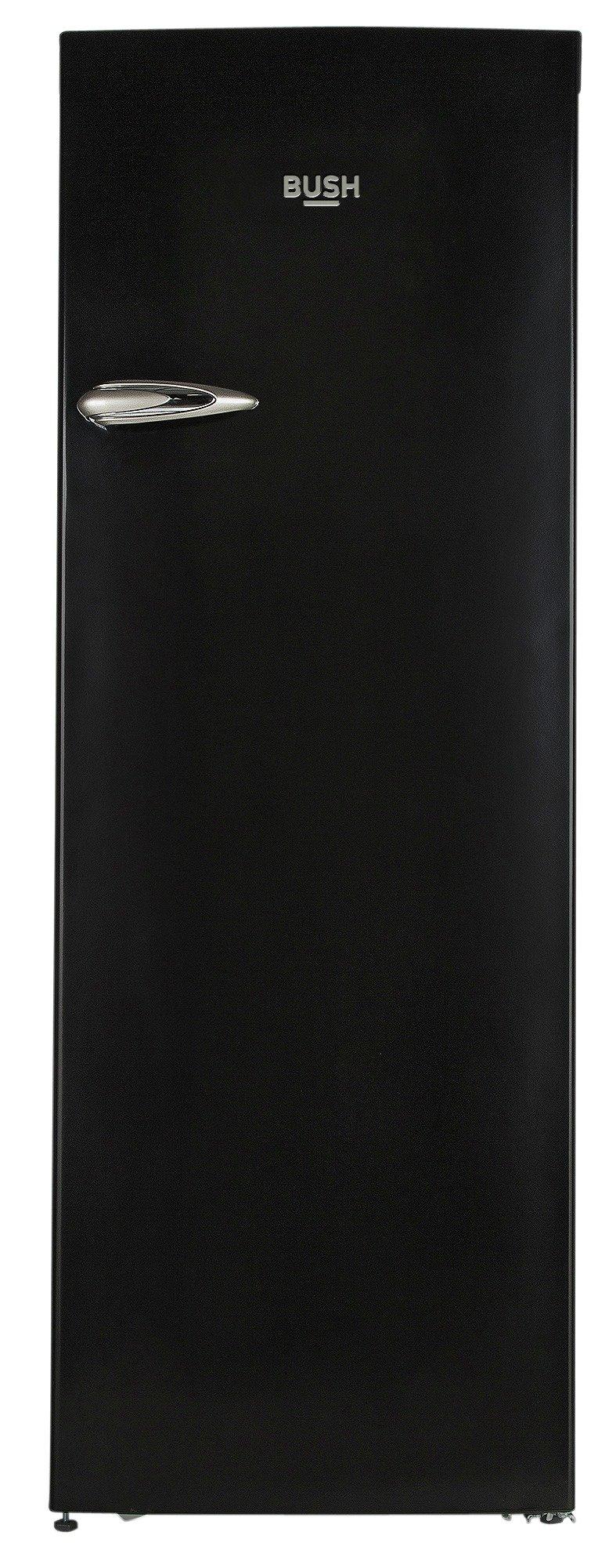 Image of Bush - Classic BRTL60170 Retro - Tall Fridge - Black