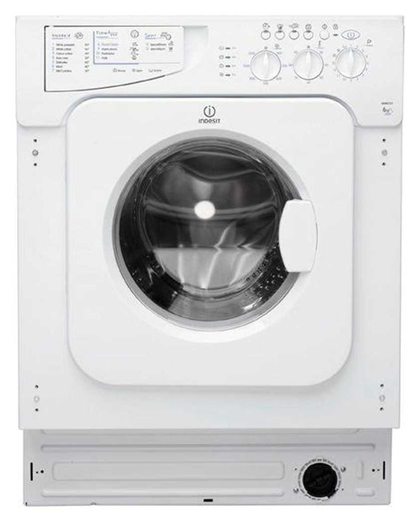 Image of Indesit IWME127 7KG 1200 Spin Washing Machine - White