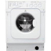 Indesit Ecotime IWME 127 Built-in Washing Machine - White