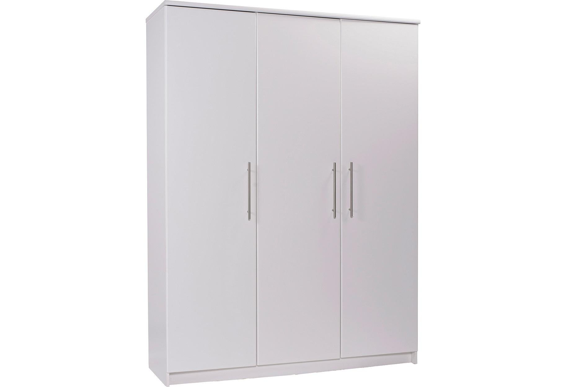 Argos Home Normandy 3 Door Wardrobe - White