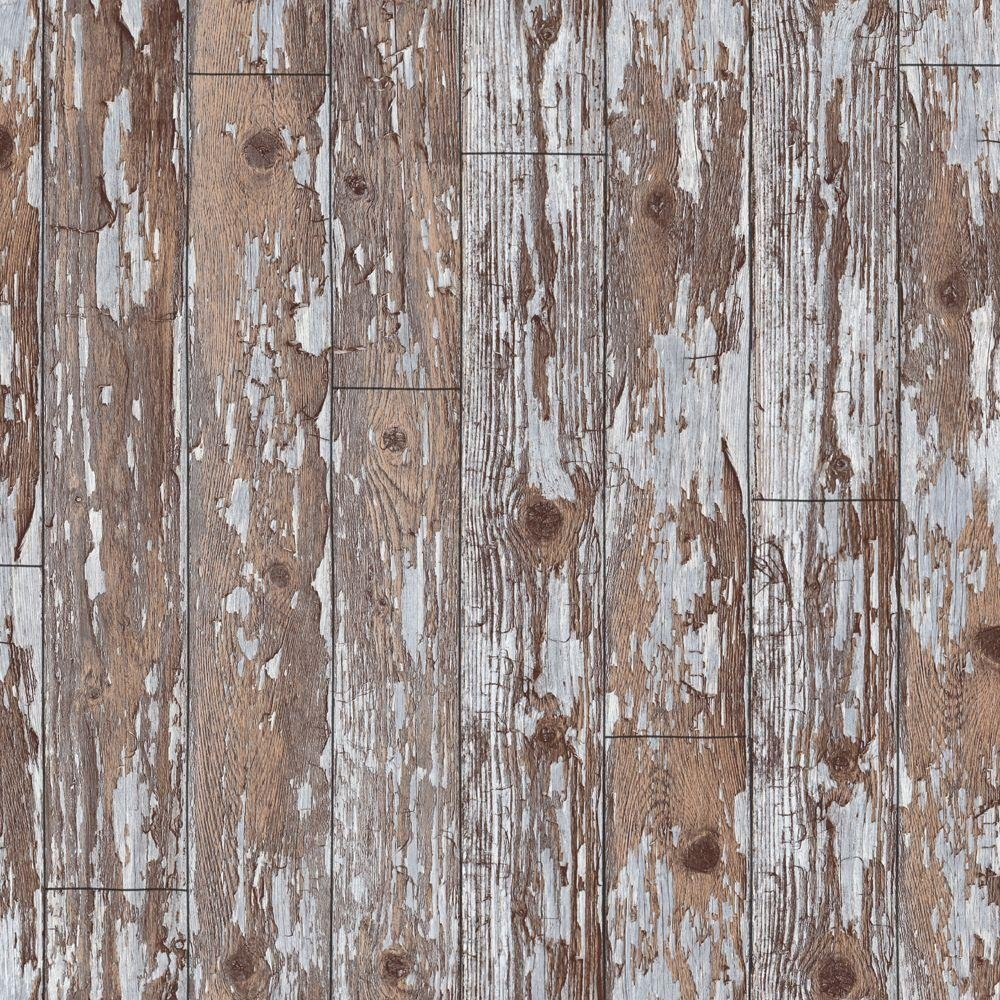 arthouse cabin wood wallpaper  brown.