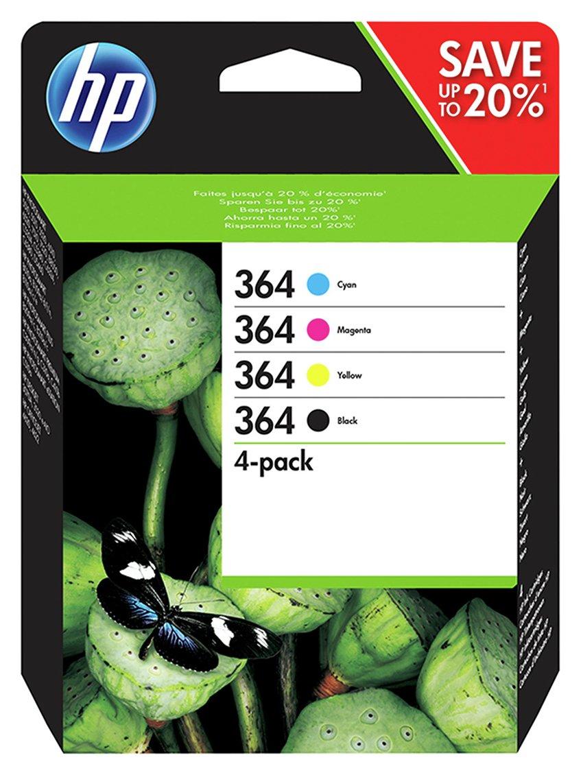 HP 364 N9J73AE Black /Colour Combo Pack Ink Cartridge