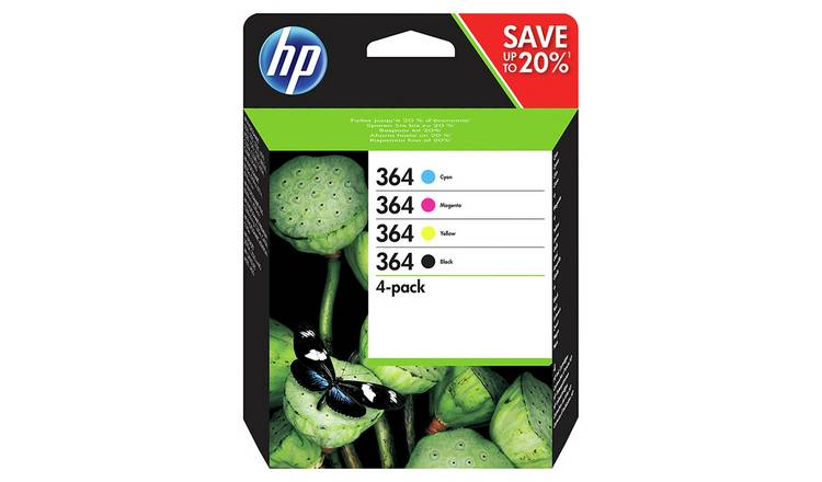 HP 364 Original Ink Cartridges - Black & Colour
