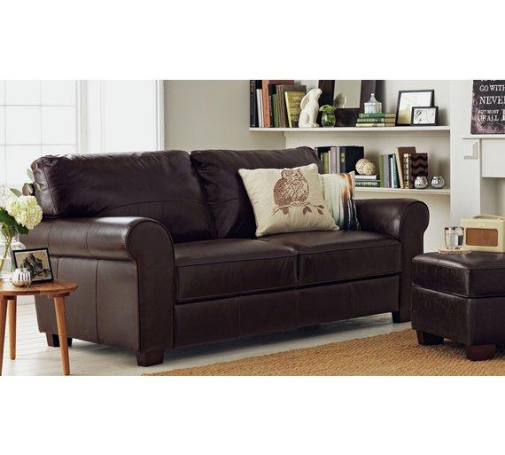 argos leather sofas. Black Bedroom Furniture Sets. Home Design Ideas