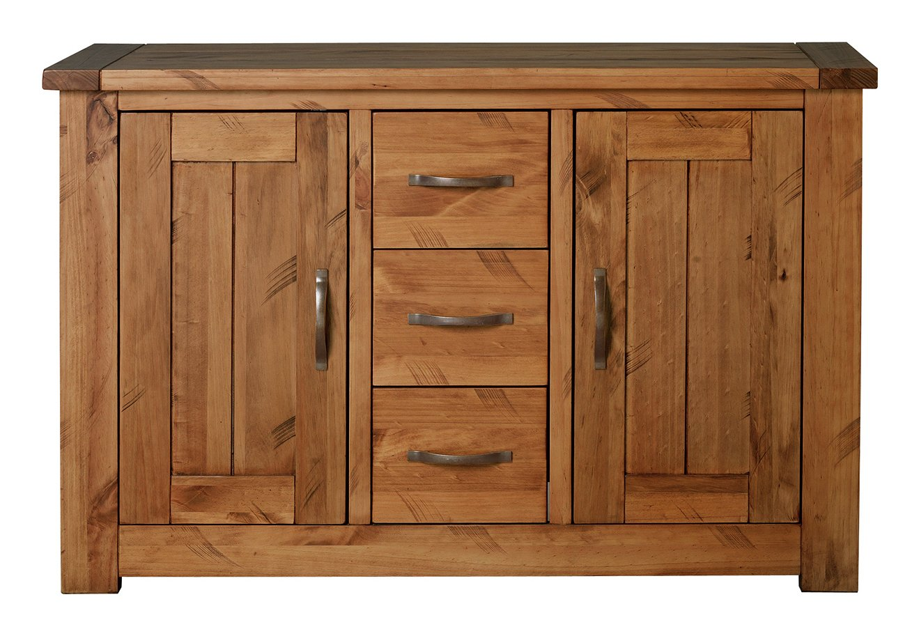 Sale on collection harvard 2 door 3 drawer solid pine for Sideboard pinie