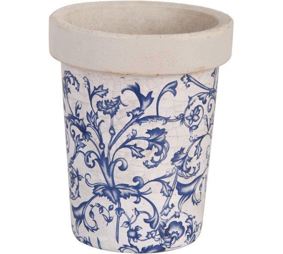 buy fallen fruits aged ceramic plant pot at. Black Bedroom Furniture Sets. Home Design Ideas