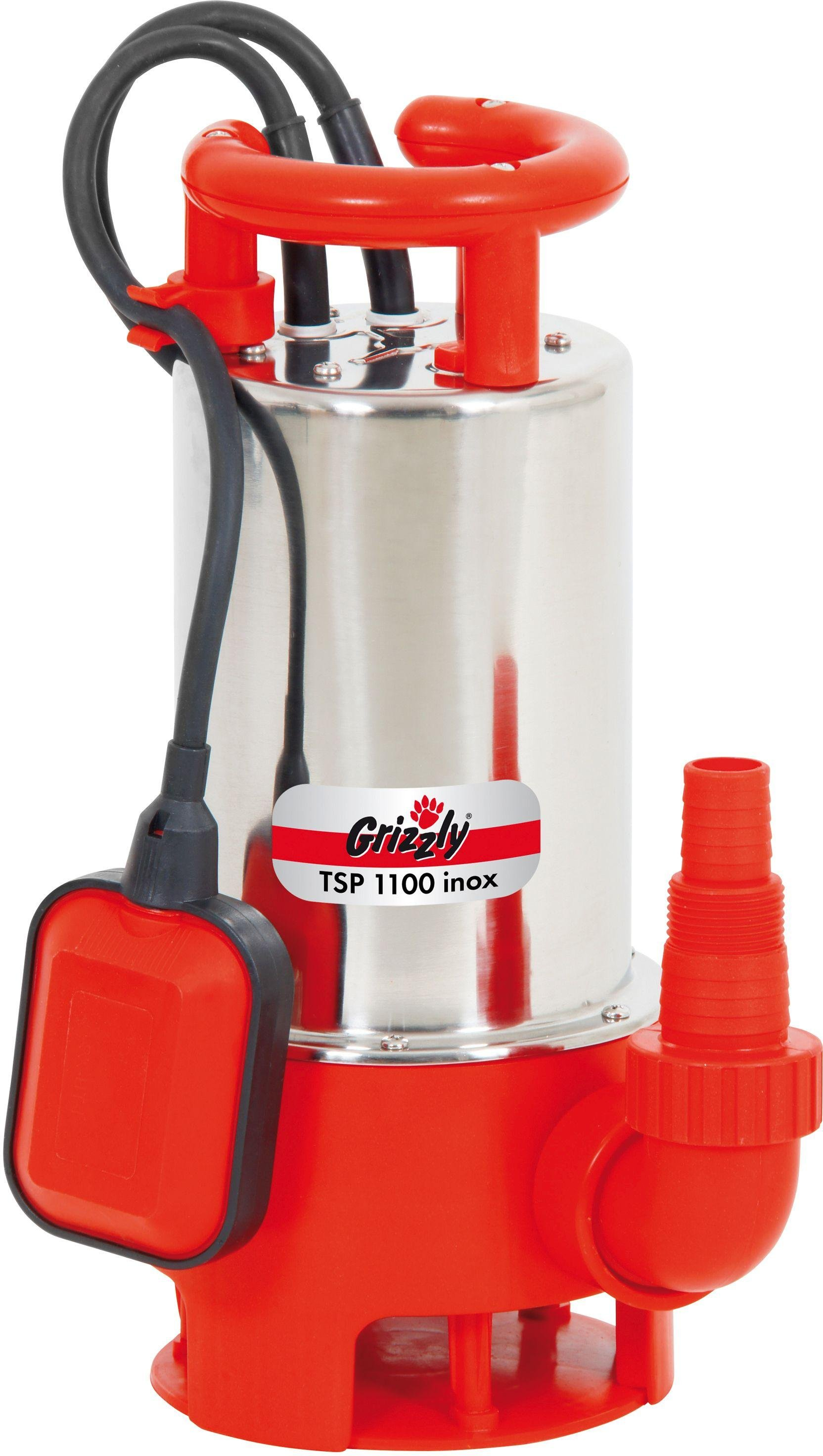 Image of Grizzly Tools - 1100W Inox High Pressure Pump