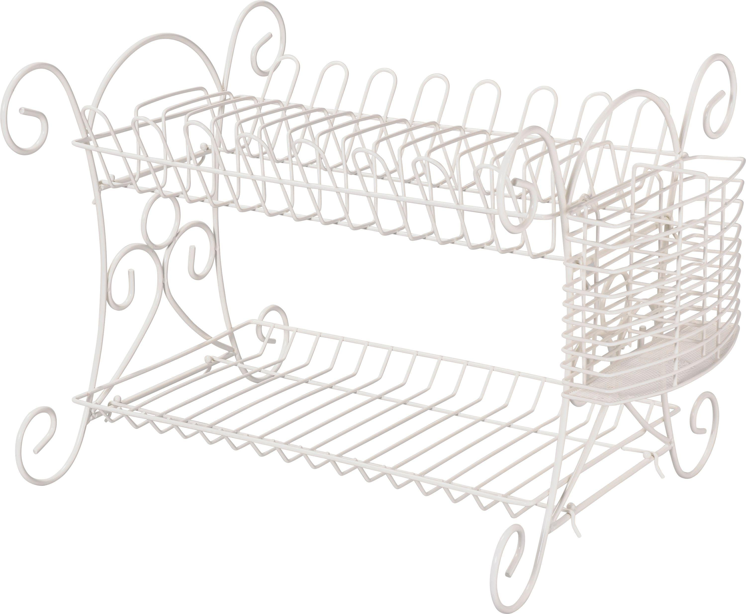 Image of Heart of House - Scroll Dish Rack - Cream