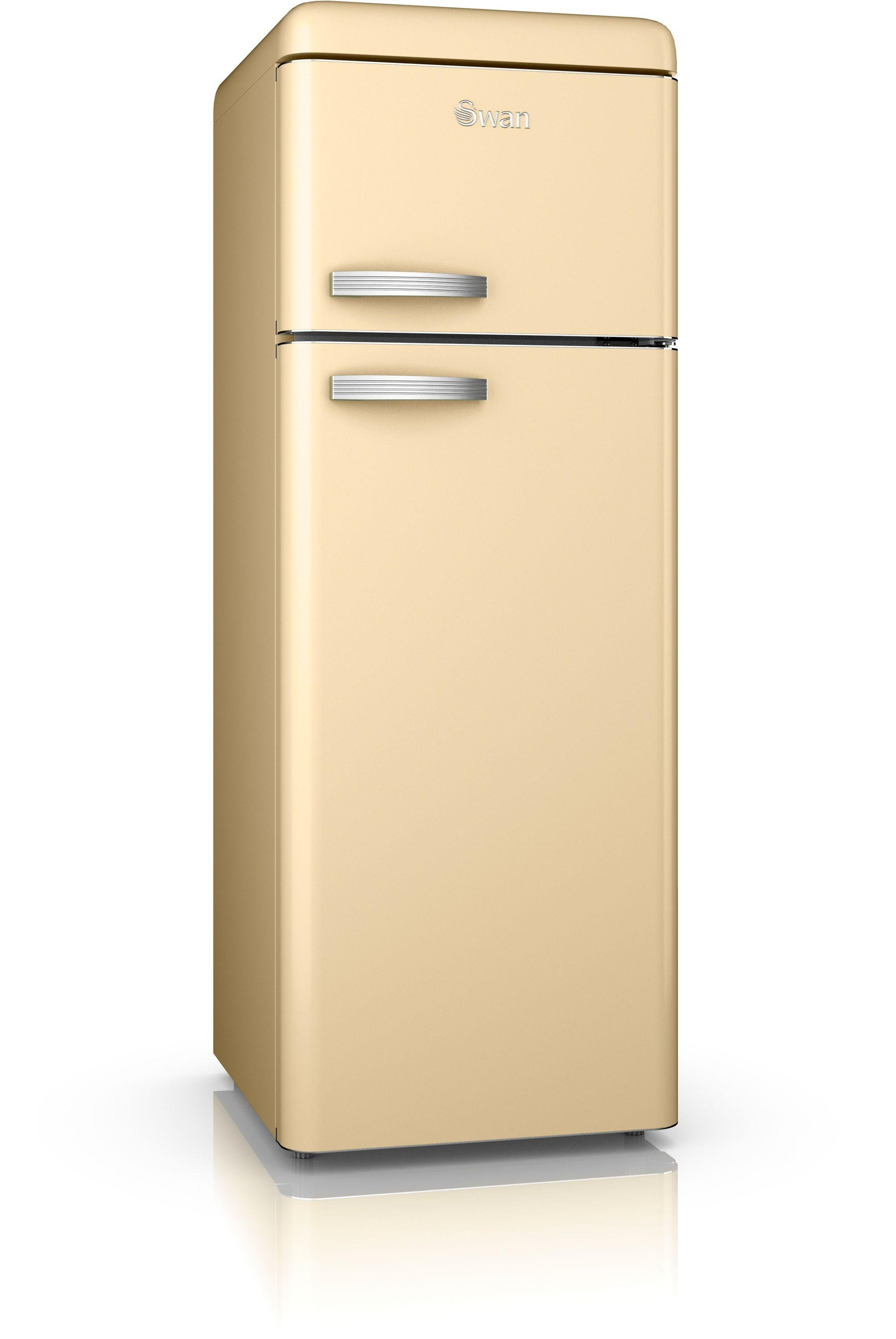 Swan SR11010CN Retro Tall Fridge Freezer - Cream.