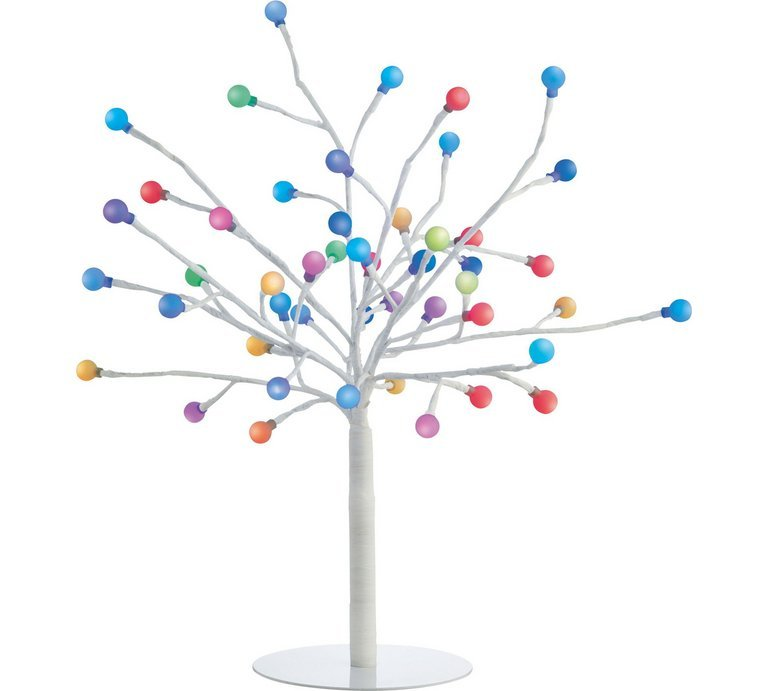 Habitat Daphne Colour Changing 48 Light LED Decorative Tree