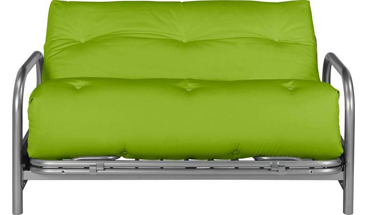 Buy Argos Home Mexico 2 Seater Futon Sofa Bed - Green | Sofa beds ...
