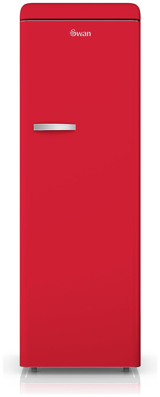 Swan SR11050RN Tall Retro Fridge - Red