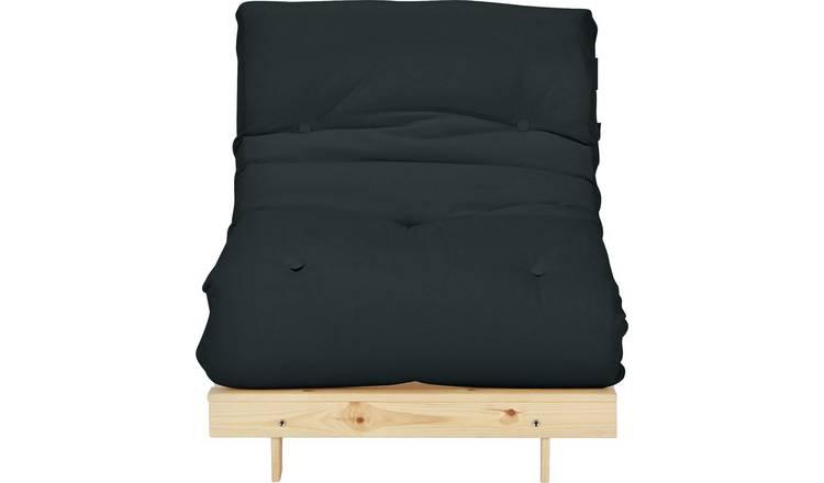 Amazing Buy Argos Home Single Futon Sofa Bed With Mattress Black Sofa Beds Argos Onthecornerstone Fun Painted Chair Ideas Images Onthecornerstoneorg