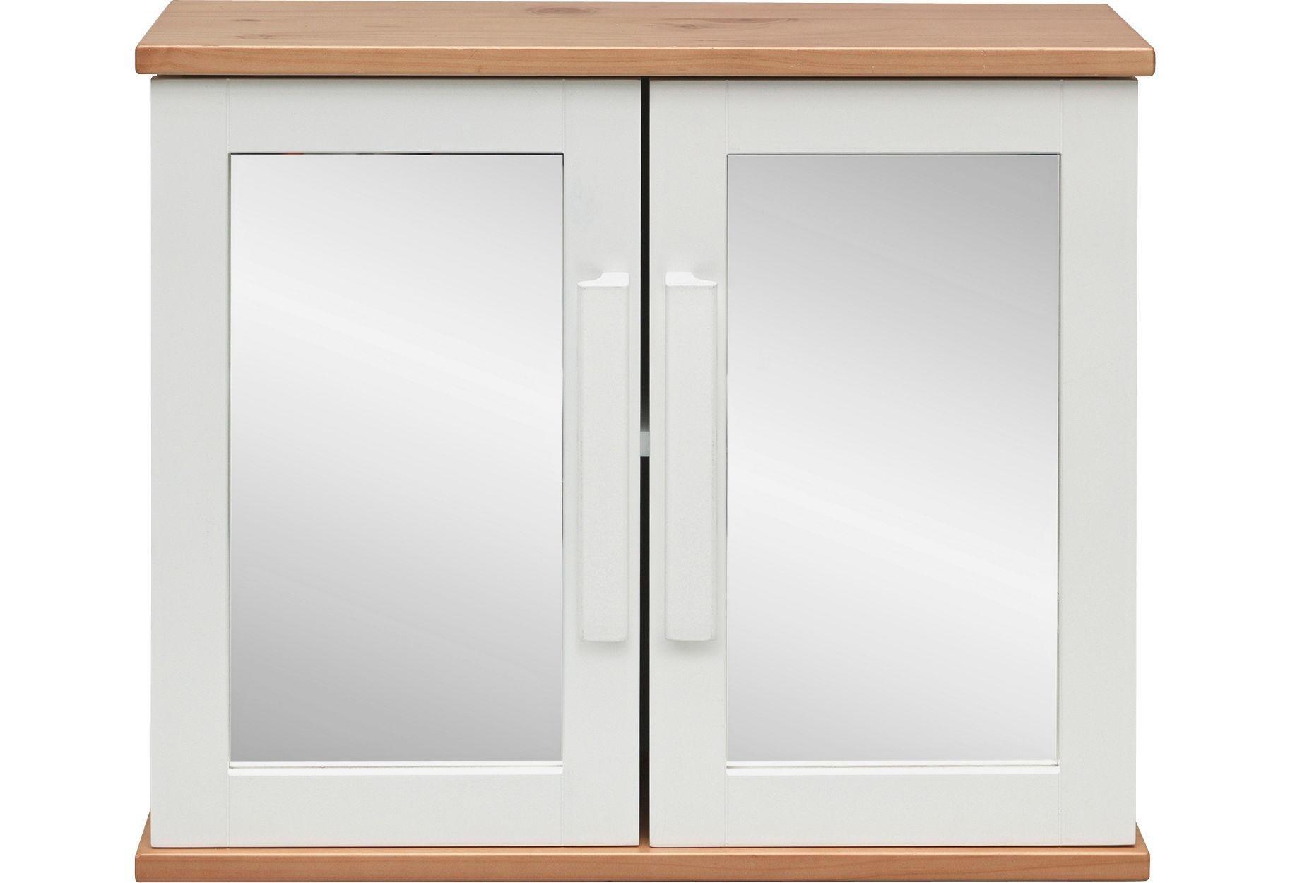 heart of house sandford mirrored bathroom wall cabinet