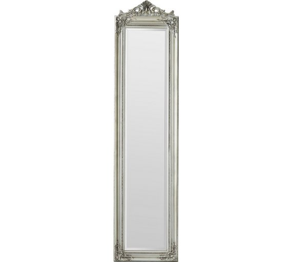 Buy heart of house coronet cheval full length mirror for Silver long mirror