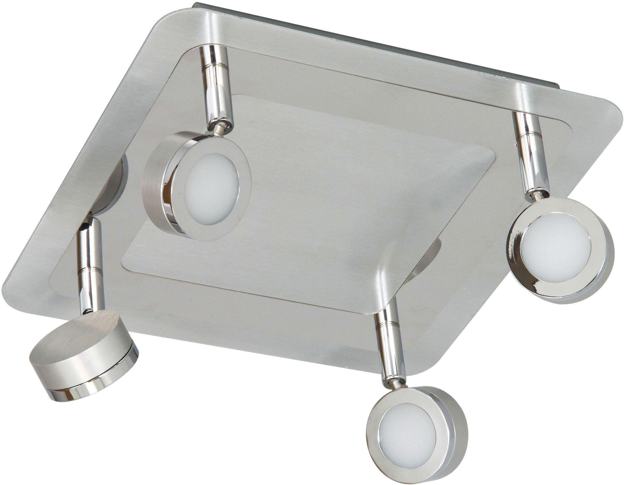 Ranex Treviso 4 Piece Bathroom Light - Brushed Aluminium