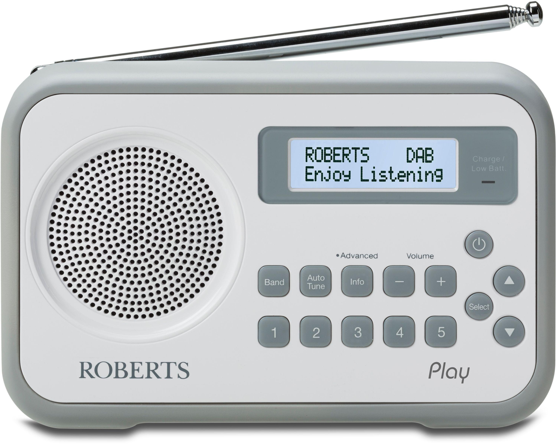 Roberts - Radio Play Digital Radio - Grey