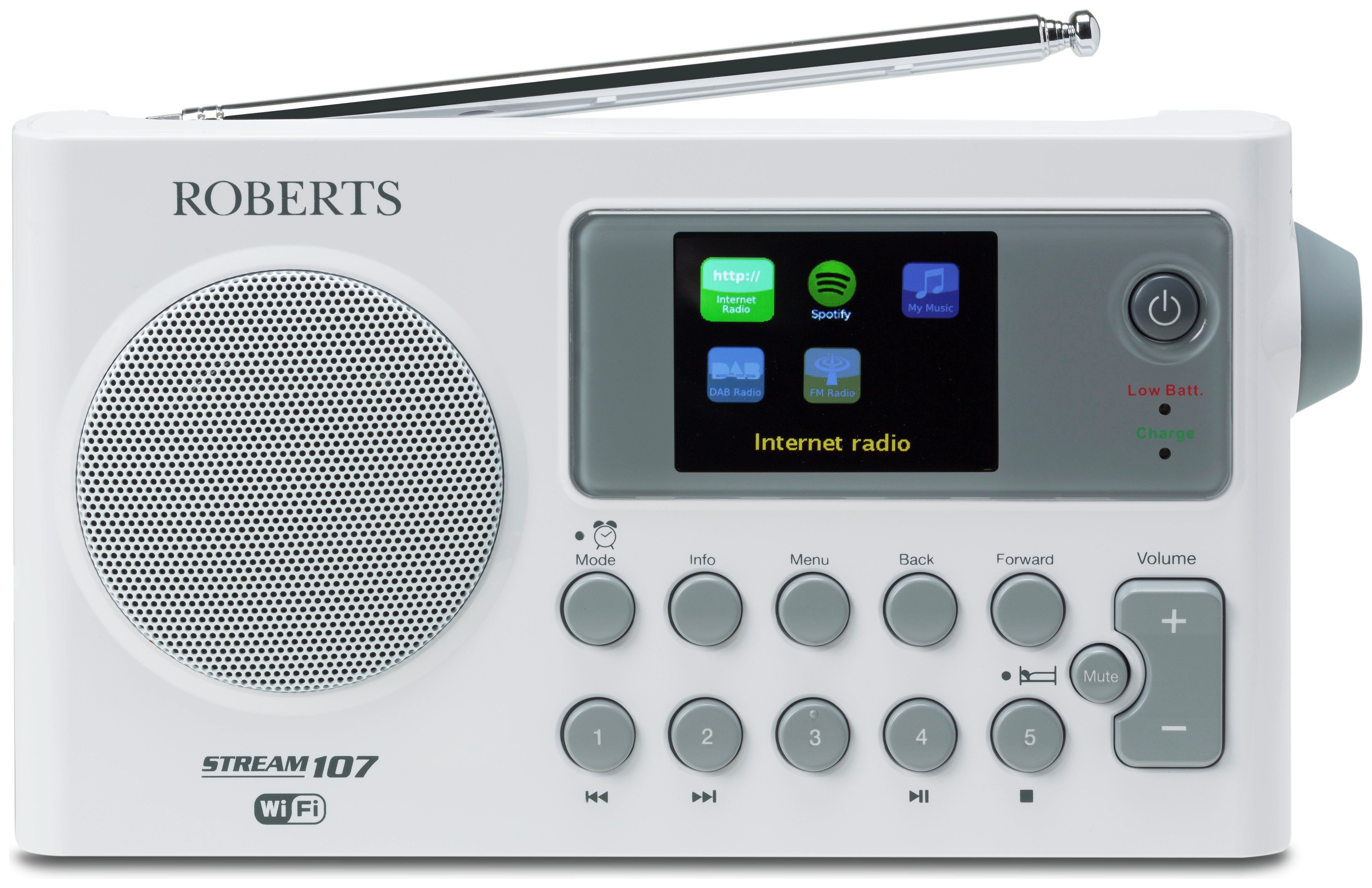 Roberts - Radio Stream107 Internet Radio