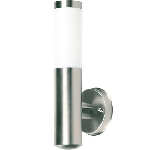 Buy Ranex Silver Coloured Outdoor Wall Light at Argos.co.uk - Your Online Shop for Wall lights ...