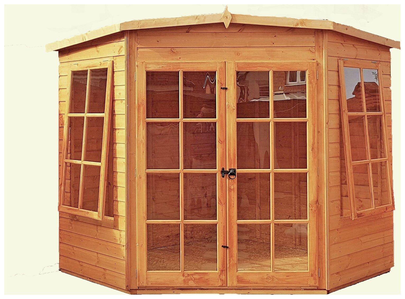 Homewood Hampton Wooden Summerhouse - 10 x 10ft.