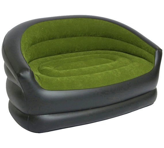 Inflatable Sofa Review: Buy PVC Flocked Inflatable Camping Double Sofa At Argos.co
