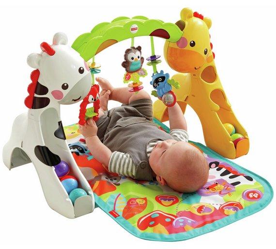 Gym Mats Argos: Buy Fisher-Price Newborn-to-Toddler Play Gym At Argos.co