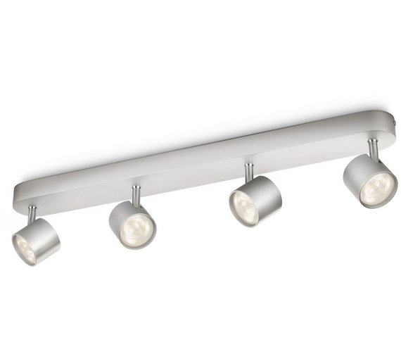 Buy philips myliving led bar 4 ceiling spot lights aluminium philips myliving led bar 4 ceiling spot lights aluminium aloadofball Choice Image