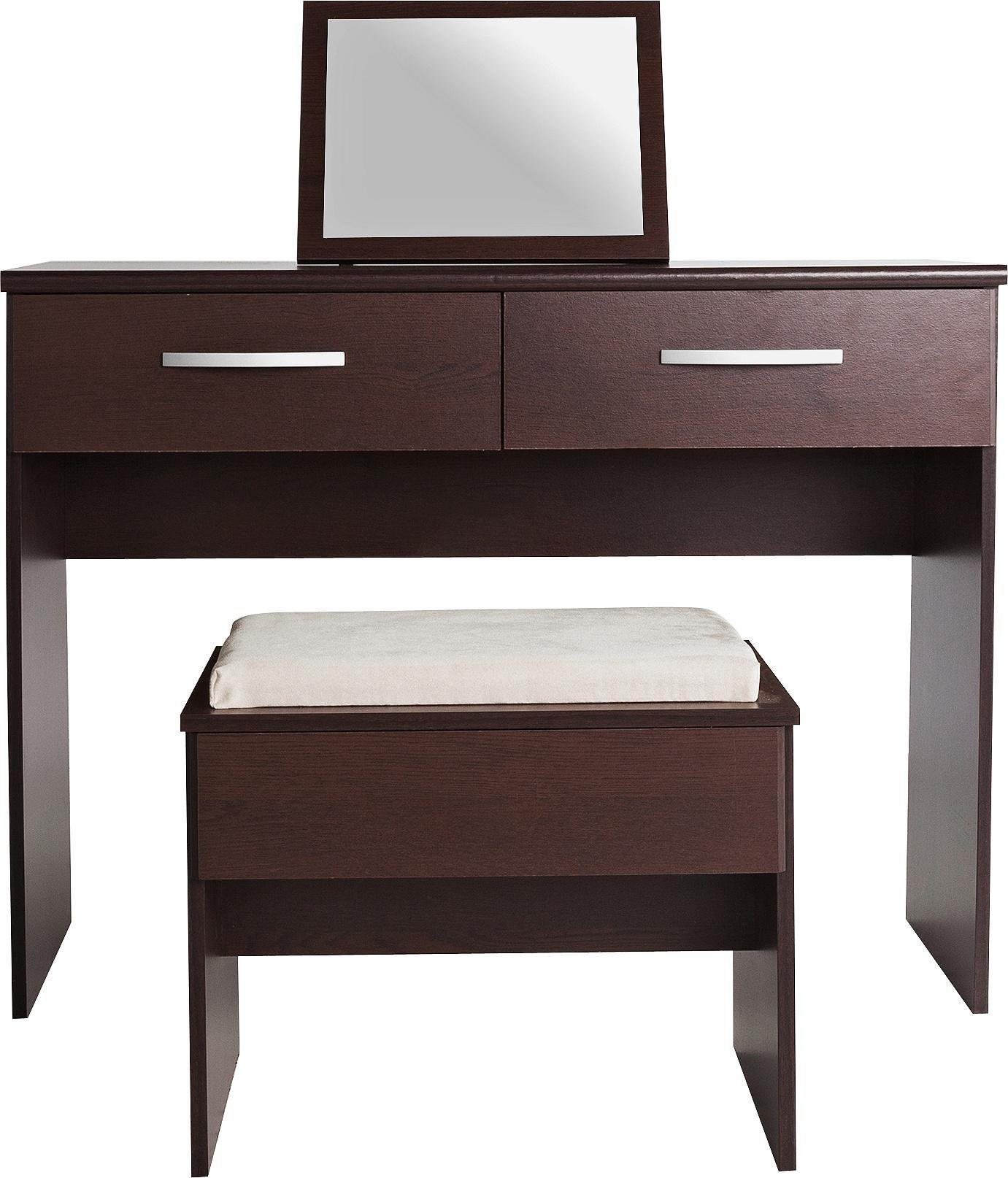 Collection new hallingford dressing table wenge effect - Dressing wenge ...