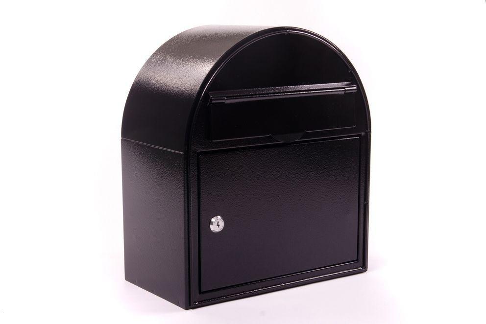 Image of House Nameplate Company Edinburgh Letterbox - Black.