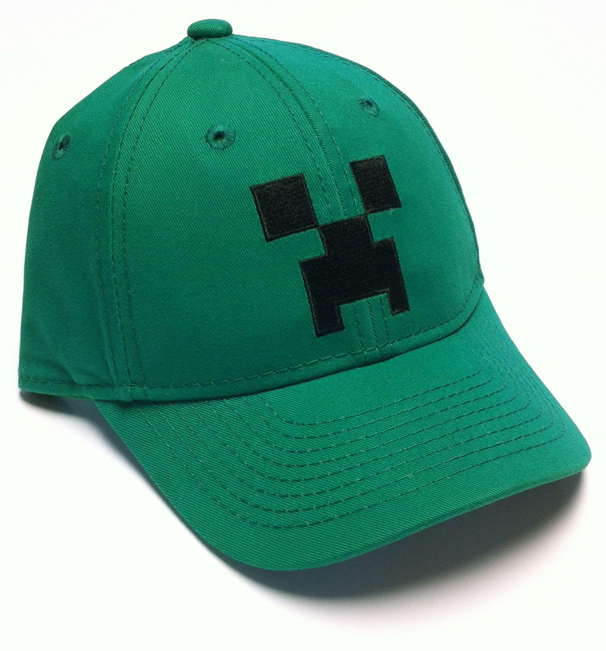 Image of Minecraft - Boys Green Cap - 7-10 Years