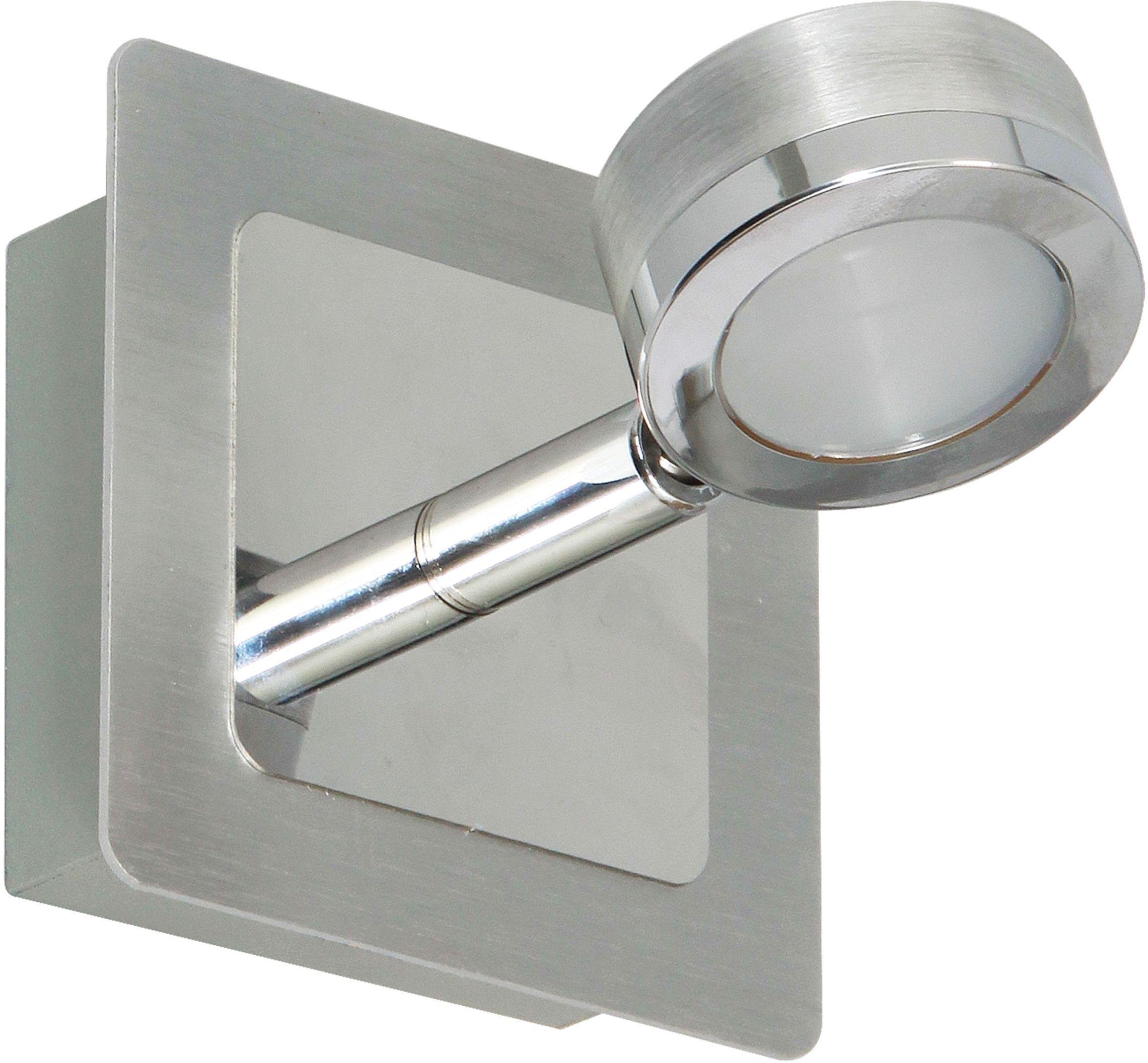 Click to zoom  sc 1 st  Argos & Buy Ranex Treviso Bathroom Wall Light - Brushed Aluminium at Argos ... azcodes.com