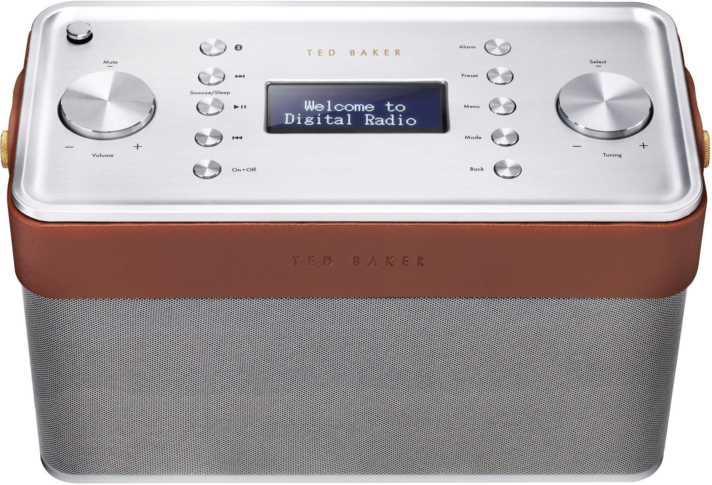 Ted Baker Ted Baker - Finisterre DAB Radio - Brown