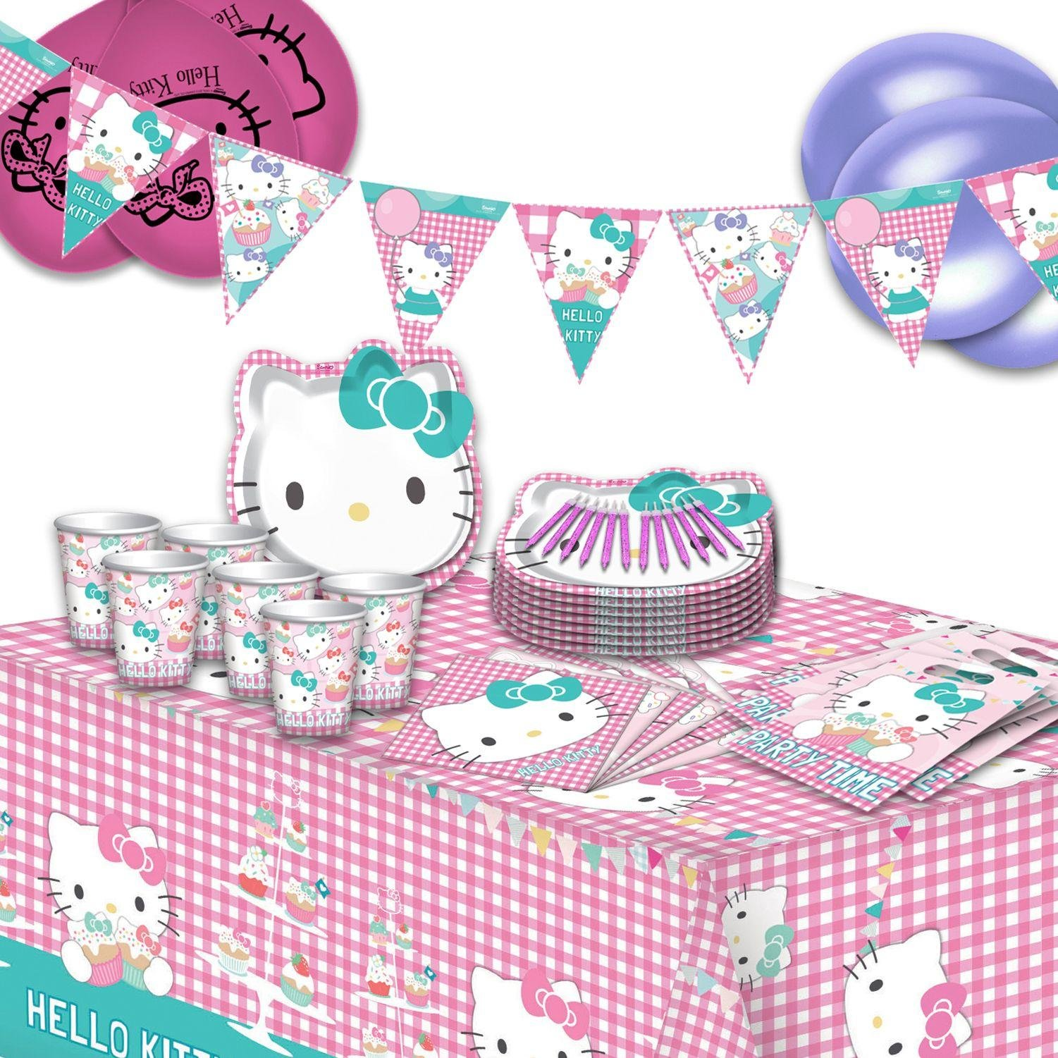 Image of Hello Kitty Ultimate Party Pack for 16 Guests.