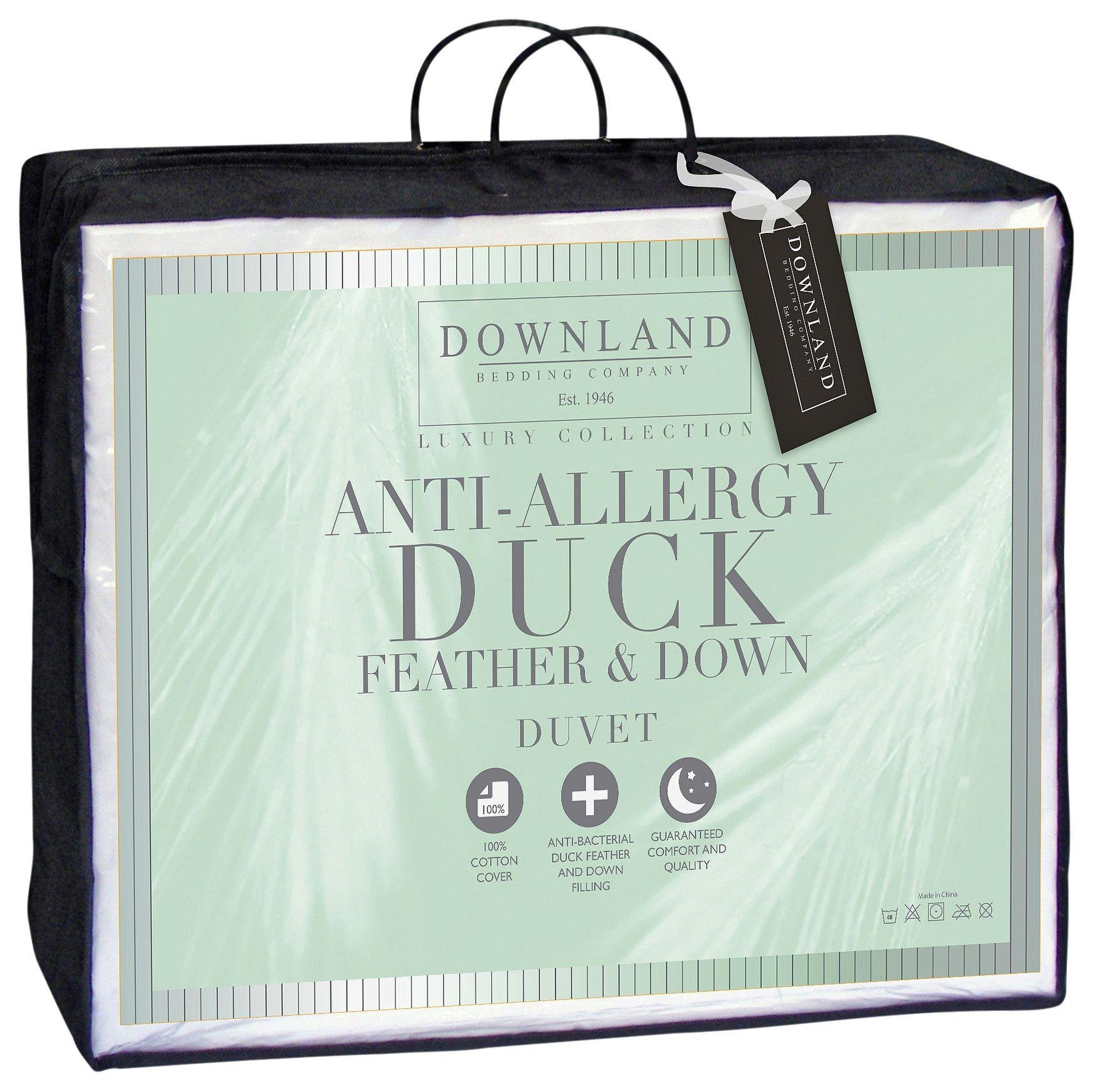 Downland 10.5 Tog Duck, Feather and Down Duvet - Single
